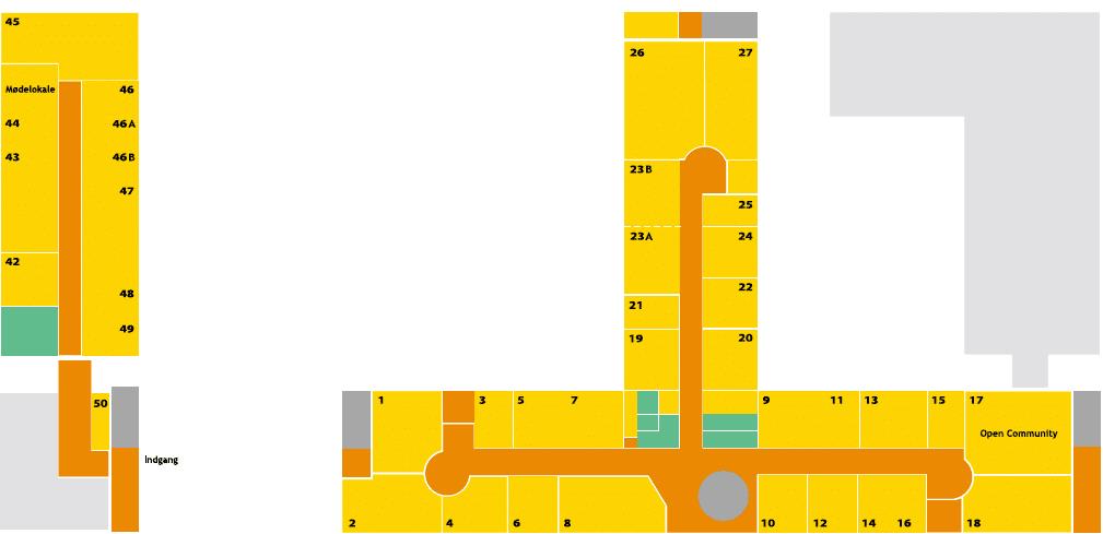 Plantegning af Voxeværket i Odense til at skabe overblik
