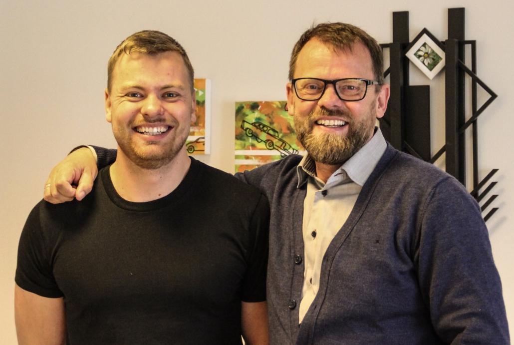 Marcus og Henrik Oxe er direktører i Voxeværket