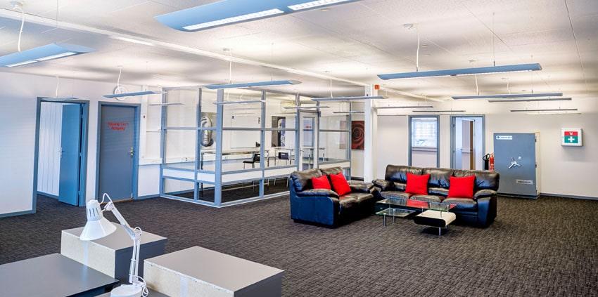 Voxeværket Padborg har åbne lokaler, til dig der vil bo med andre i et co-working space.