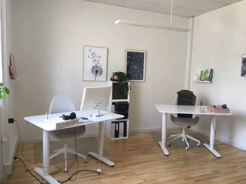 Kontor i Charlottenlund