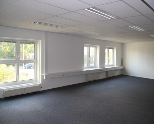 Har du brug for et stort kontor, så har vi pladsen hos Voxeværket